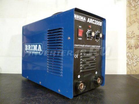 Сварочный инвертор BRIMA ARC 200 B