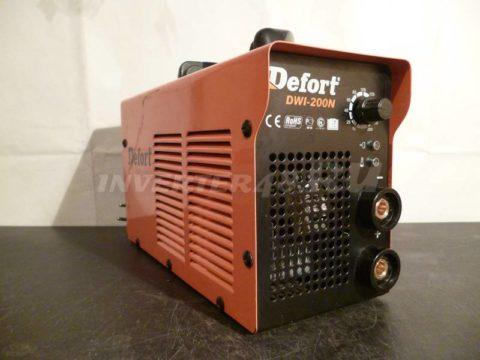 Сварочный инвертор DEFORT DWI 200 N