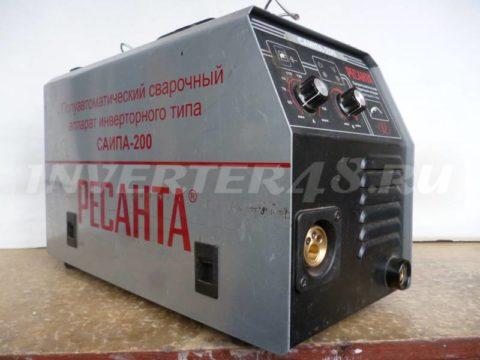 Сварочный инверторный полуавтомат РЕСАНТА САИПА 200 GP95 V4.0