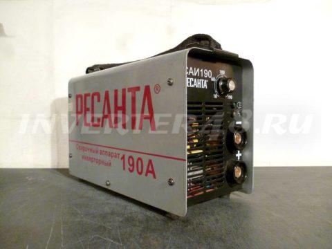 Сварочный инвертор РЕСАНТА САИ 190 GP123 V6.0