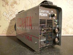 Сварочный инвертор РЕСАНТА САИ 190 GP34 V2.0