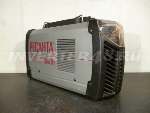 Сварочный инвертор РЕСАНТА САИ 190 ПН GP102 V4.0