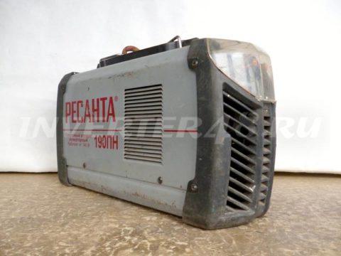 Сварочный инвертор РЕСАНТА САИ 190 ПН SH52