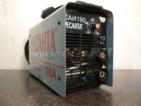 Сварочный инвертор РЕСАНТА САИ 190 SH29