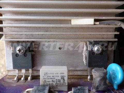 Ремонт BESTWELD TIGER 210 IGBT транзисторы IGW50N60T