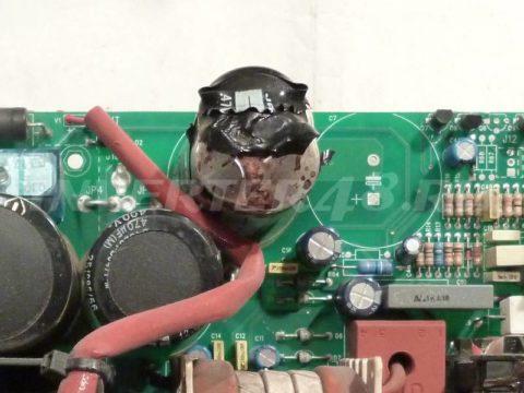 Ремонт BLUEWELD PRESTIGE 170/1 взорваный конденсатор 470 мкФ 400 вольт