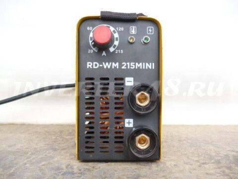 Сварочный инвертор REDVERG RD WM 215 MINI