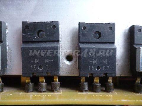 Ремонт AIKEN WELD WARRIOR 200 диоды FMX4202S (X4202S).