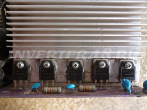 Ремонт BESTWELD TIGER 210 выпрямительные диоды SDW60C40