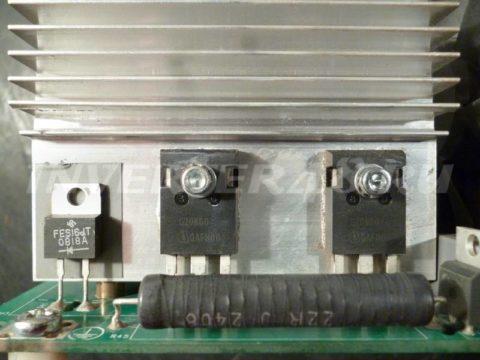 Ремонт BLUEWELD PRESTIGE 170/1 IGBT транзисторы SGW20N60
