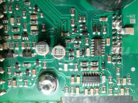 Инвертор FUBAG IN 160 pcb 64171 IND11 замена L6386