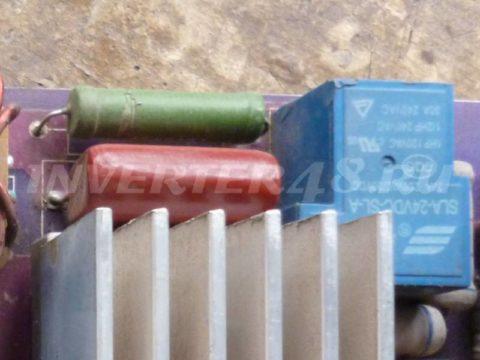 Ремонт BESTWELD TIGER 210 оборванный резистор 10 ватт 51 ом