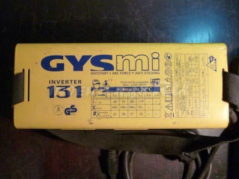 Характеристики инвертора GYS GYSMI 131 PCB 64184 IND7