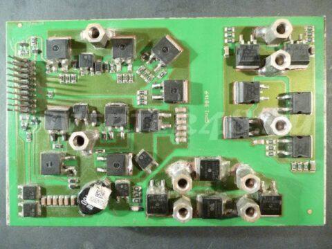 Силовой блок 64186 Ind5 инвертора FUBAG IN 160 pcb 64171 IND11