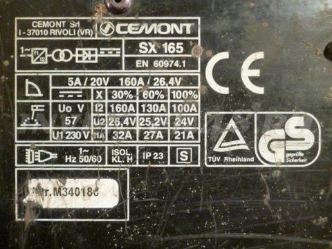 Характеристики сварочного инвертора CEMONT SX 165