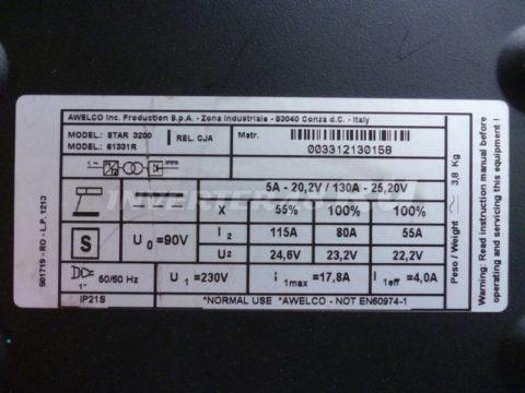 Харктеристики сварочного инвертора STANLEY STAR 3200