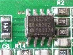 AD8676 операционный усилитель