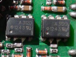 HCPL-3120 оптодрайвер MOSFET IGBT транзисторов