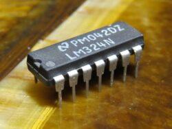 LM324 операционный усилитель