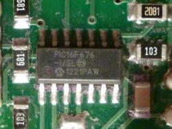 Микроконтроллер PIC16F676