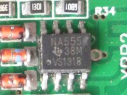 Таймер на биполярных транзисторах NA555 NE555